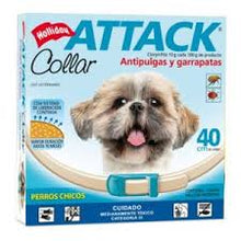 Collar Attack Anti Pulgas y Garrapatas