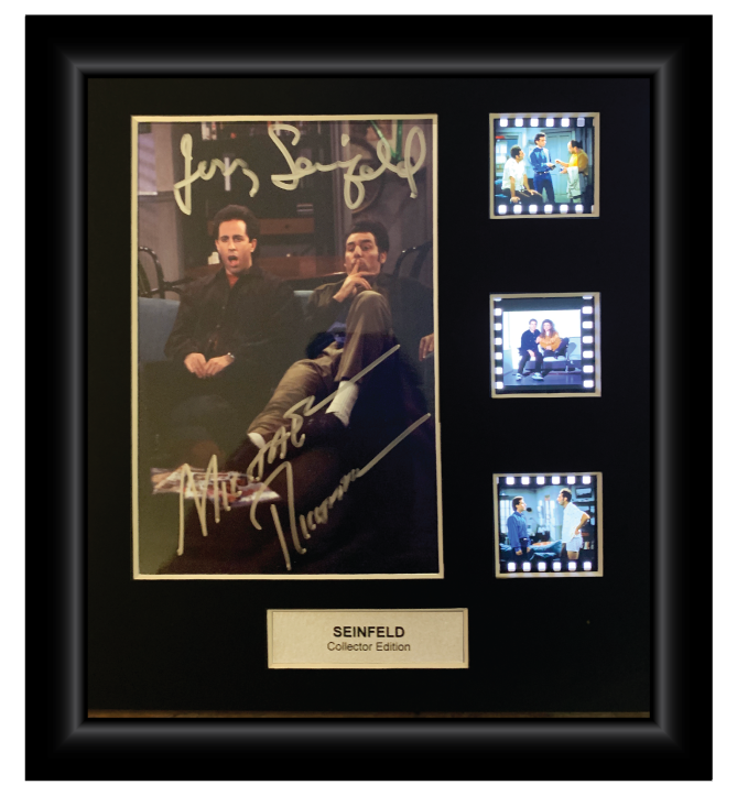 Seinfield - 3 Cell Autographed Display
