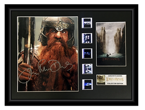 Lord of the Rings: Fellowship of the Ring (2001) - Autographed Film Display