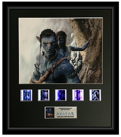 Avatar (2009) - Autographed Film Cell Display