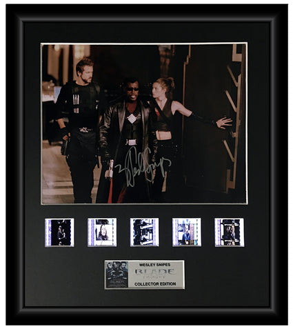 Blade Trinity (2004) - Autographed Film Cell Display