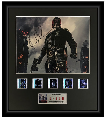 Dredd (2012) - Autographed Film Cell Display