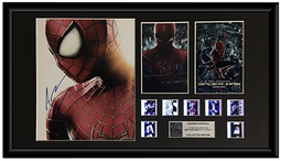 Amazing Spider-Man, The (2007) - Autographed Adrew Garfield Film Cell Display