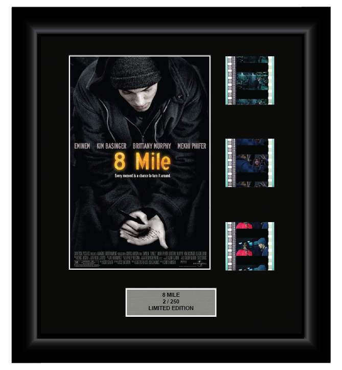 8 Mile (2002) - 3 Cell Display