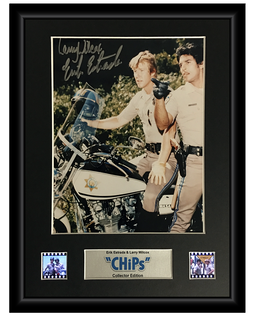 CHiPs (1977-1983) - 2 Cell Autographed Display