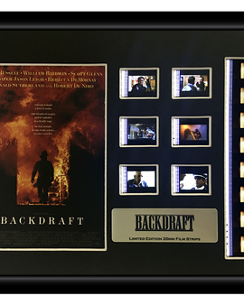 Backdraft (1991) Limited Edition - Film Cell Display