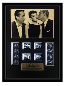 Sabrina (1954) Limited Edition - Film Cell Display