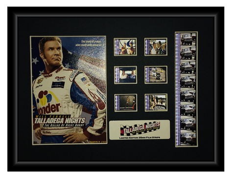 Talladega Nights: The Ballad of Ricky Bobby (2006) Limited Edition - Film Cell Display