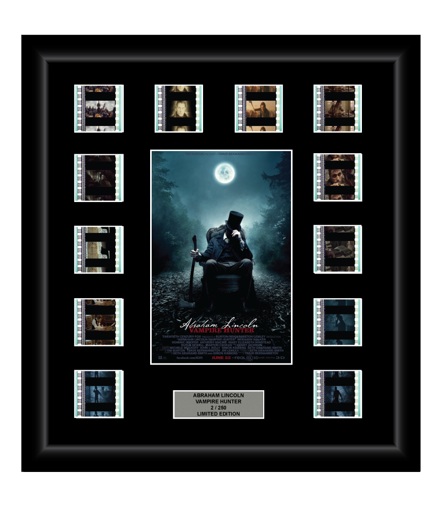 Abraham Lincoln: Vampire Hunter (2012) - 12 Cell Film Display