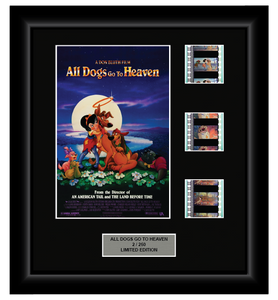 All Dogs Go to Heaven (1989) - 3 Cell Display