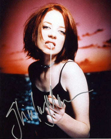 Shirley Manson (Garbage) Autographed CD Music Display