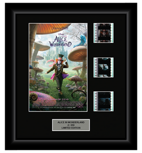Alice in Wonderland (2010) - 3 Cell Display - ONLY 1 AT THIS PRICE!