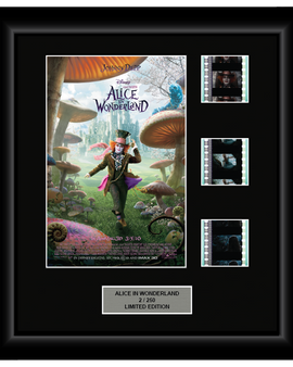 Alice in Wonderland (2010) - 3 Cell Display