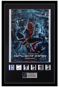 Andrew Garfield - Amazing Spider-Man (2012) Autographed Film Cell Display (1)