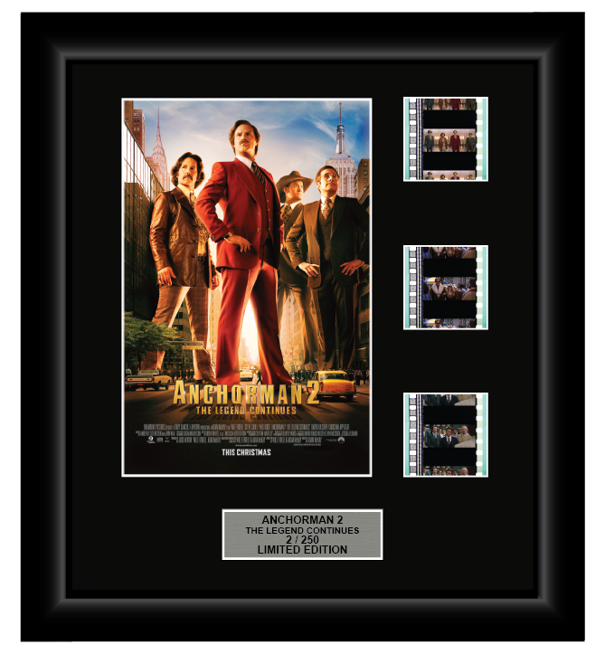 Anchorman 2: The Legend Continues (2013) - 3 Cell Display
