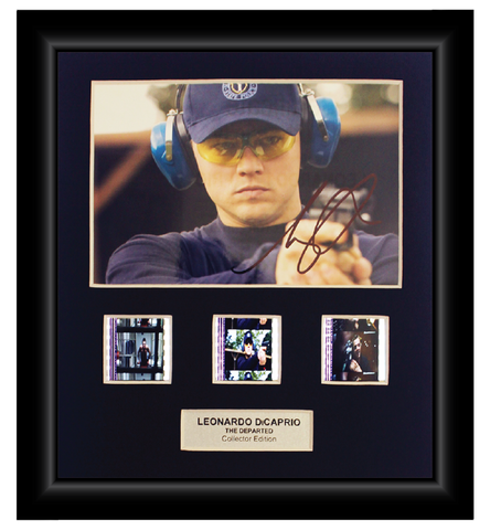 The Departed (2006)  - 3 Cell Autographed Display