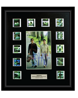 Rain Man (1988) - 12 Cell Autographed Display