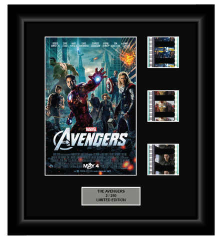 Avengers (2012) - 3 Cell Display