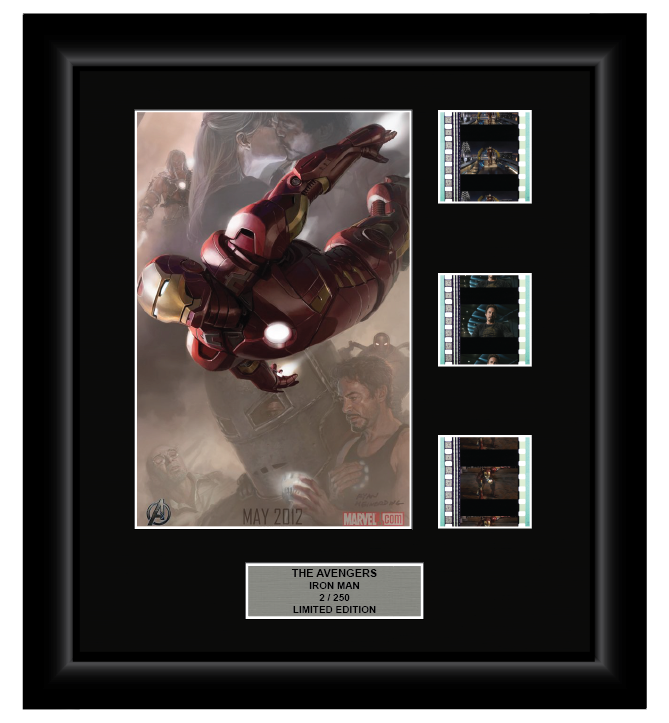 Avengers Iron Man (2012) - 3 Cell Display