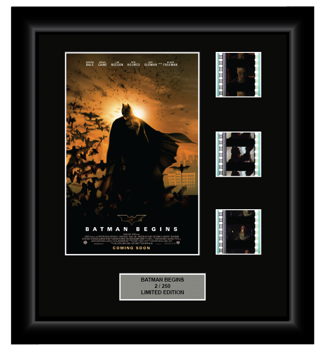 Batman Begins (2005) - 3 Cell Display