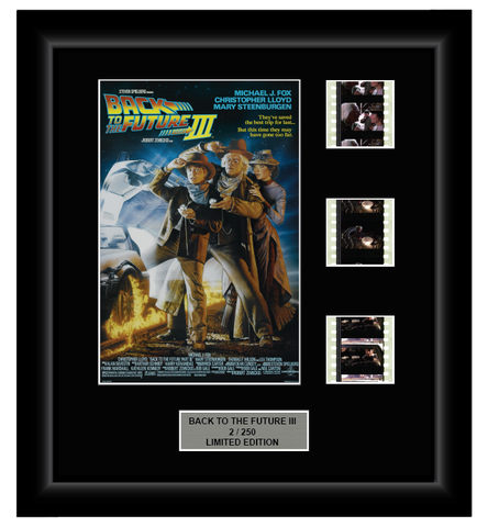 Back to the Future III (1990) - 3 Cell Classic Display