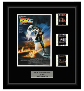 Back to the Future I (1985) - 3 Cell Classic Display