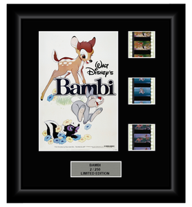 Bambi (1942) (Classic Disney) - 3 Cell Classic Display