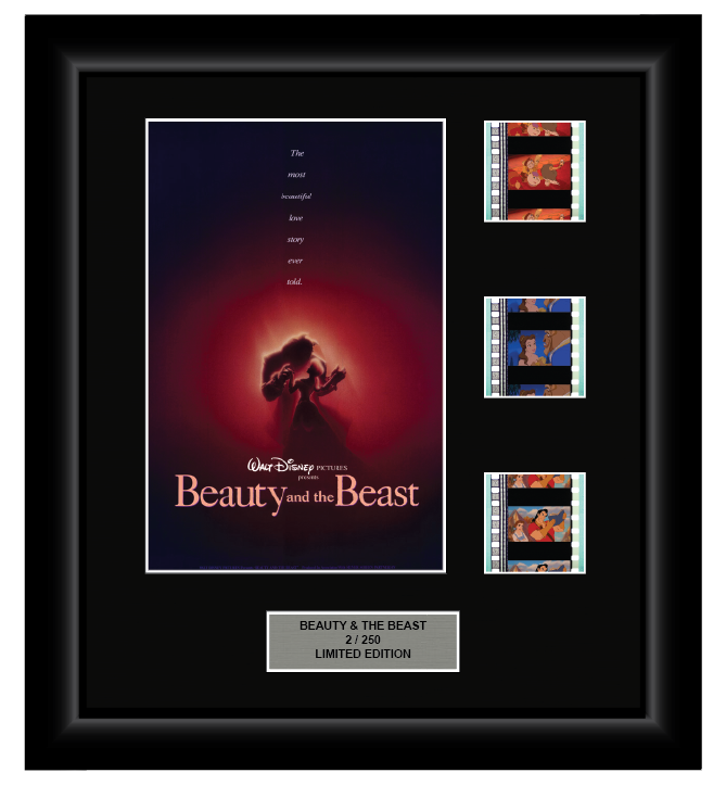 Beauty and the Beast (1991) - 3 Cell Display Film Display