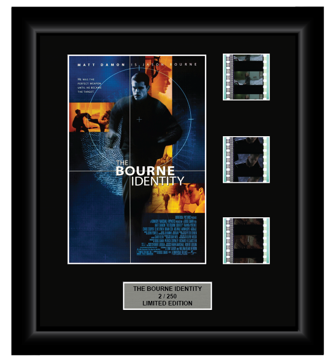 Bourne Identity (2002) - 3 Cell Display Film Display