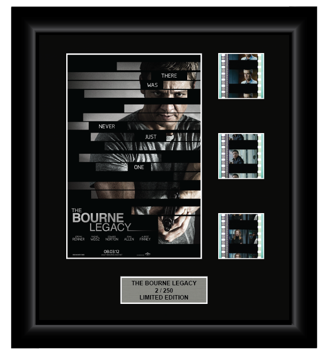 Bourne Legacy (2012) - 3 Cell Display