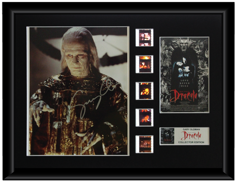 Bram Stoker's Dracula (1992) - Gary Oldman Autographed Film Cell Display (1)