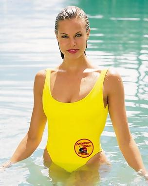 Brooke Burns - Baywatch Autographed Card