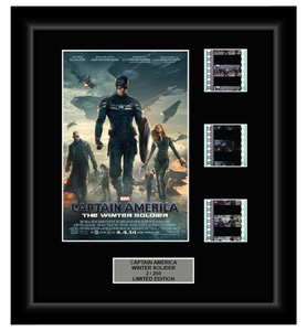 Captain America: Winter Solider (2014) - 3 Cell Display