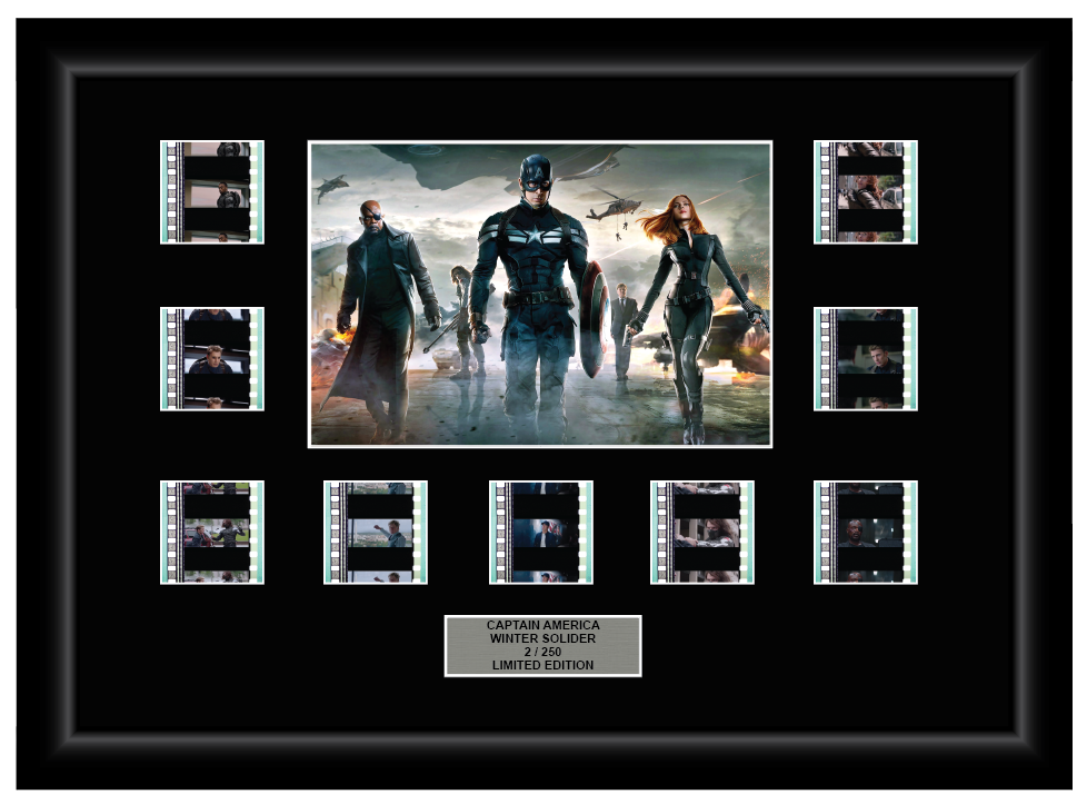 Captain America: Winter Solider (2014) - 9 Cell Display
