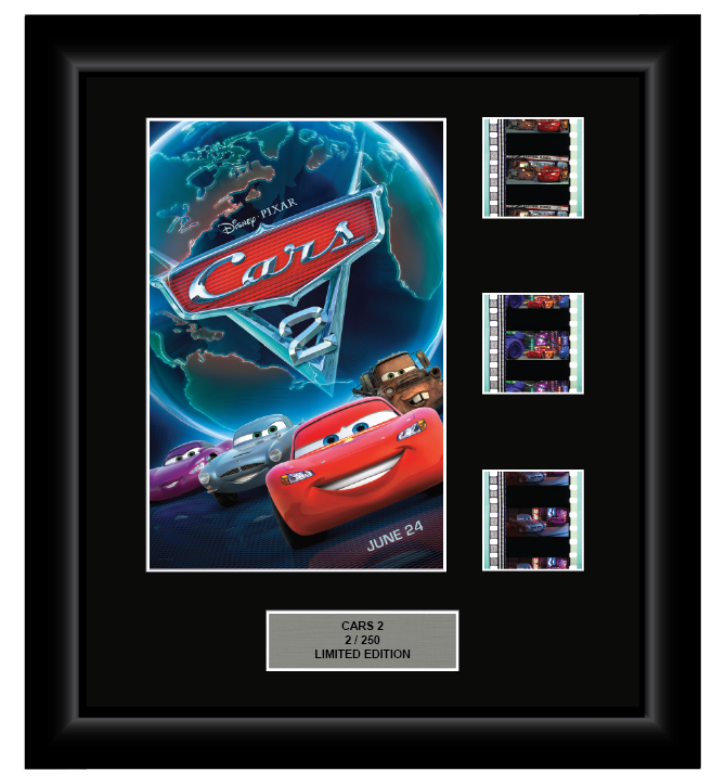 Cars 2 (2011) - 3 Cell Display - ONLY 1 AT THIS PRICE!