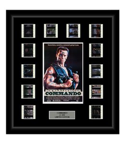 Commando (1985) - 12 Cell Film Display