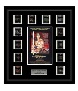 Conan the Destroyer (1984) - 12 Cell Film Display