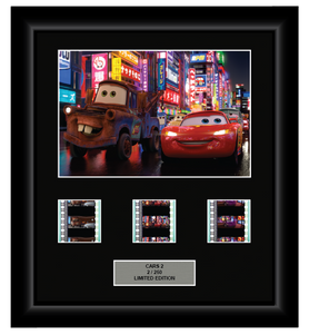 Cars 2 (2011) - 3 Cell Display (Style 2)