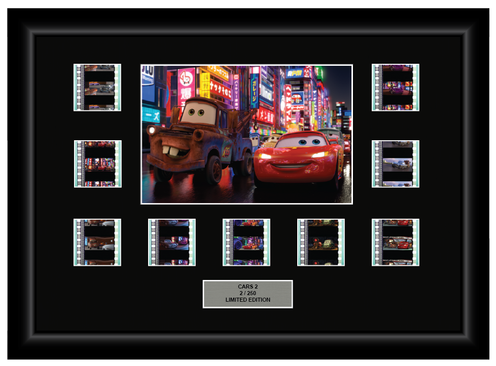 Cars 2 (2011) - 9 Cell Display