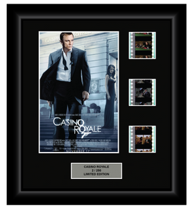 Casino Royale (2006) - 3 Cell Display (James Bond)