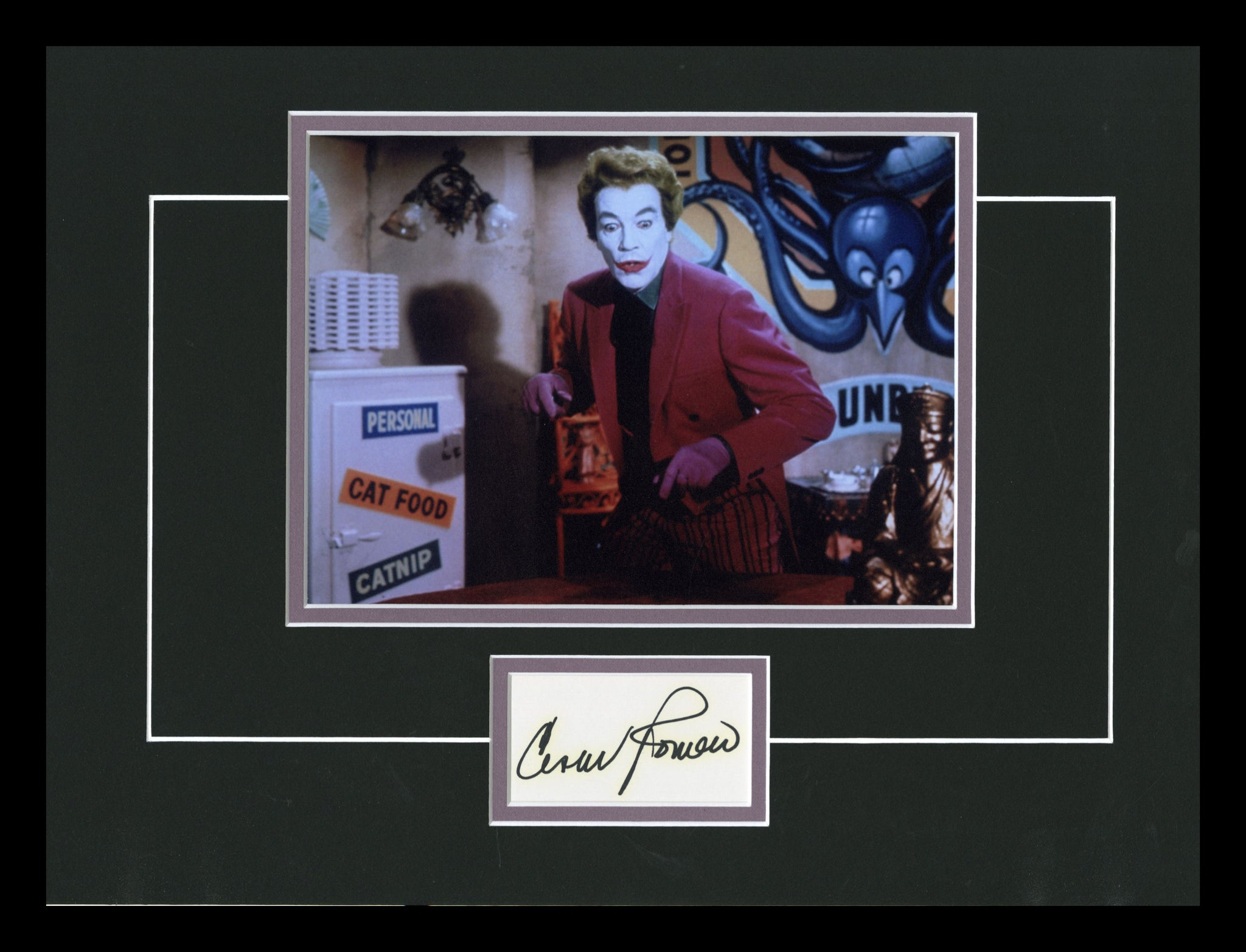 Batman (1960's TV Series) Autographed Display