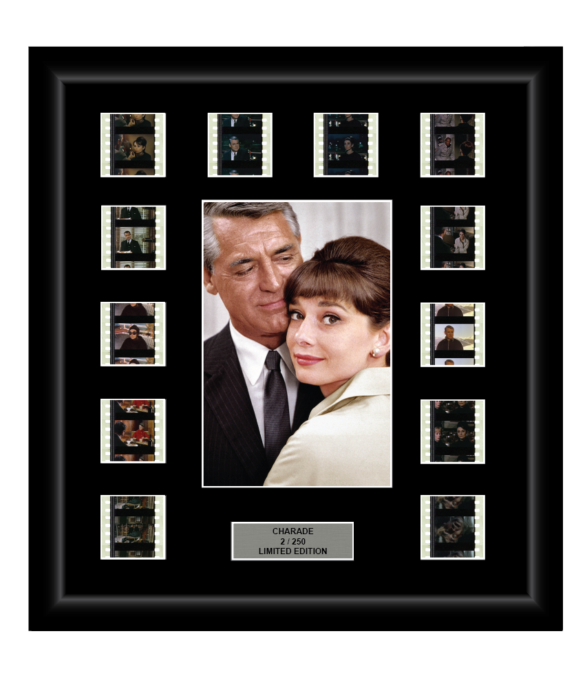 Charade (1963) - 12 Cell Classic Display - ONLY 1 AT THIS PRICE
