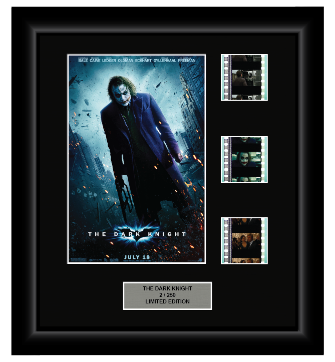 Dark Knight (2008) - Joker - 3 Cell Display
