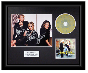 Dixie Chicks Autographed Music CD Display