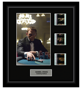 Daniel Craig (James Bond) - 3 Cell Display - ONLY 1 AT THIS PRICE!