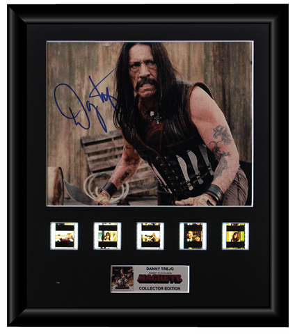 Machete (Danny Trejo) Autographed Film Cell Display (2)