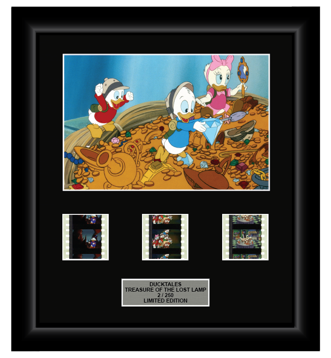 DuckTales: The Movie - Treasure of the Lost Lamp (1990) - 3 Cell Display - ONLY 1 AT THIS PRICE!