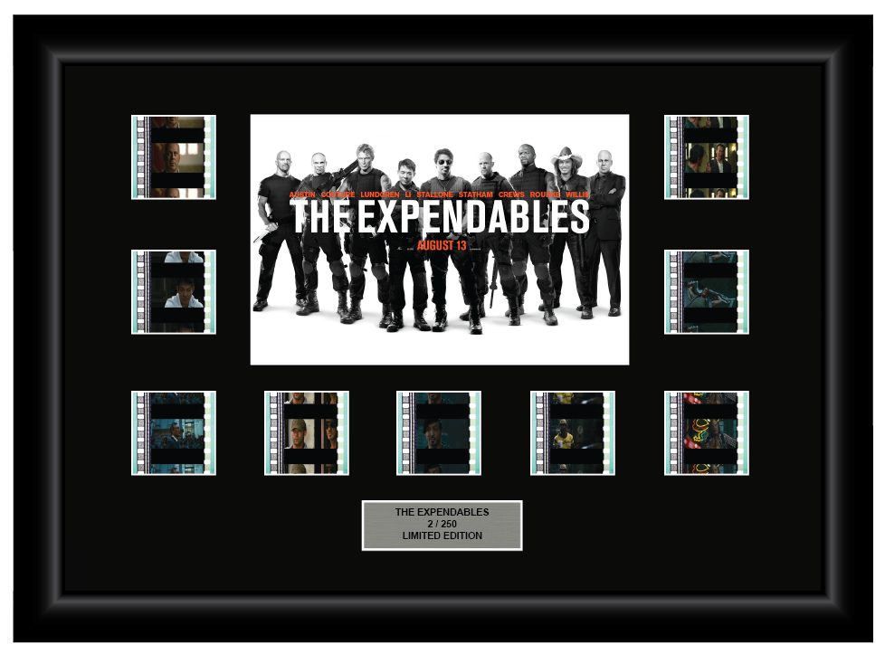 Expendables, The (2010) - 9 Cell Display