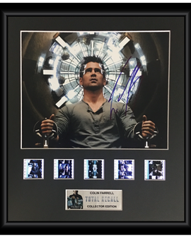 Total Recall (2012) - Autographed Film Cell Display