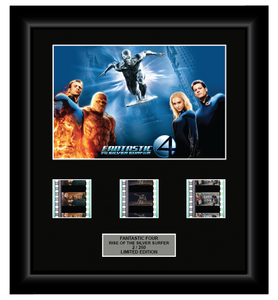 Fantastic Four Rise of the Silver Surfer (2007) - 3 Cell Display